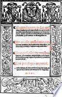 Libro ... de las epistolares