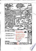 Libro de los honnestos amores de Peregrino y Ginebra
