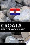 Libro de Vocabulario Croata