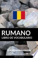 Libro de Vocabulario Rumano