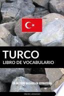 Libro de Vocabulario Turco
