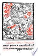 Libro del muy esforçado cauallero Palmerin de Inglaterra hijo del rey do[n] Duardos: y de sus grandes proezas y de Floriano del desierto su hermano, con algunas del principe Florendos hijo de Primaleón
