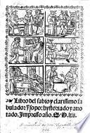 Libro del sabio ... fabulador Ysopo: hystoriado y anotado. G.L.