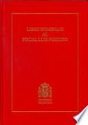 Libro homenaje al fiscal Luis Portero