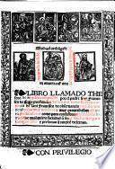 Libro llamado Thesauro de angeles ... enel q̃l se contienẽ cosas muy notables  muy prouechosas assi para predicadores como para confessores, etc. G.L.