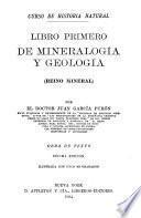Libro primero de mineralogía y geología (reino mineral)
