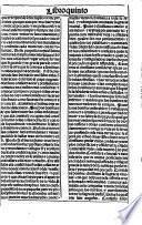 Libro quinto del libro llamado carro de las donas el qual fe llama memoria eterna: que tracta del aparejo que los christianos han de hazer para la muerte