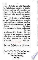 Libro y elogio anagrammatico del nombre misteriosso de S. Rosa de S. Maria