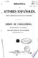 Libros de caballerias