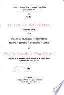 Libros de caballerías: pte. Ciclo de los palmerines. Extravagantes. Glosario. Variantes. Correcciones Indices