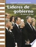 Líderes de gobierno: de antes y de hoy: Read-Along eBook