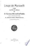 Linaje de Morovelli y ortos ilustres de Sevilla