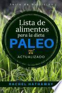 Lista de alimentos para la dieta Paleo