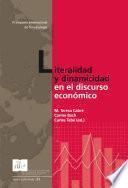 Literalidad y dinamicidad en el discurso económico