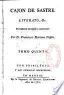 Literato o percha de Maulero erudito par Cajon de Sastre
