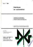 Literatura Sobre la Automatizacion