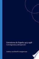 Literaturas de España 1975-1998
