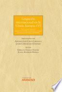 Litigación Internacional en la Unión Europea V
