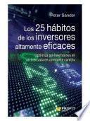Los 25 hábitos de los inversores altamente eficaces