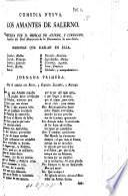 Los Amantes de Salerno. (Comedia.) In verse