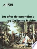 Los años de aprendizaje de Guillermo Meister