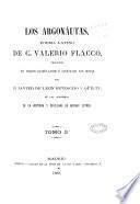 Los Argonáutas, poema latino de C. Valerio, traducido en versos castellanos é ilustrado con notas por D. Javier de Leon Bendicho y Qüilty, de las Academias de la historia y Sevillana de buenas letras