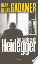 Los caminos de Heidegger