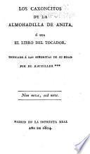 Los Caxoncitos de la almohadilla de Anita, ó sea, El libro del tocador