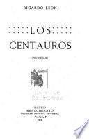 Los centauros (novela).