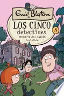 Los cinco detectives #8. Misterio del ladrón invisible