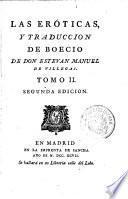 Los cinco libros de la consolacion; traducidos por Estevan Manuel de Villegas