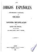 LOS CODIGOD ESPANOLES CONCORDADOS Y ANOTADOS