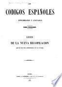 Los codigos españoles concordados y anotados