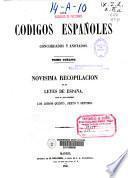Los códigos españoles, concordados y anotados