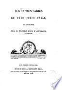 Los Comentarios de Cayo Julio César traducidos