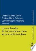 Los contenidos de humanidades como lectura multidisciplinar