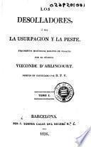 Los Desolladores, ó sea, La usurpacion y la peste