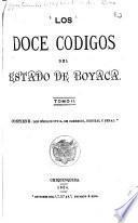 Los doce códigos del estado de Boyacá