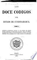 Los doce códigos del Estado de Cundinamarca