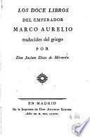 Los Doce libros del emperador Marco Aurelio