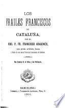 Los frailes franciscos de Cataluña