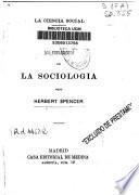 Los fundamentos de la sociología