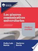 Los géneros comunicativos universitarios: orales y escritos