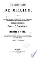 Los gobernantes de México