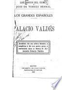 Los grandes españoles: Palacio Valdés