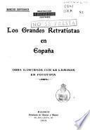 Los grandes retratistas en España