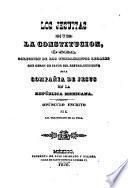 Los jesuitas y la constitucion, ó sea Coleccion de los fundamentos legales que obran en favor del restablecimiento de la Compañia de Jesus en la República Mexicana