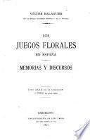 Los juegos florales en España