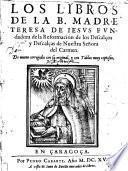 Los Libros de la B.Madre Teresa de