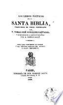 Los Libros poéticos de la Santa Biblia